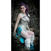 Timeless Trends Steampunk Armor Long Corset