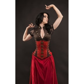 Timeless Trends Red Stripe Captain Corset