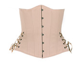 Timeless Trends Nude Long Corset