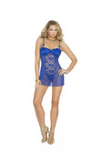 Elegant Moments Mesh and Lace Babydoll