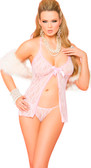 Elegant Moments Lace Babydoll