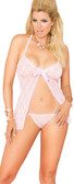 Elegant Moments Queen Size Lace Babydoll