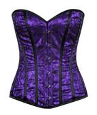 Daisy Corset Lavish Purple Lace Overbust Corset