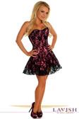 Daisy Corset Lavish Pink Lace Corset Dress