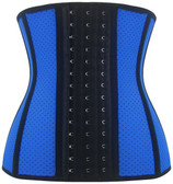 Daisy Corset Breathable Hole Blue Steel Boned Latex Shaper Waist Training Corset