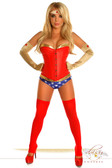 "Daisy Corset 4 PC Sexy ""Sexy Superhero"" Costume"