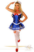 Daisy Corset 4 PC Sexy First Mate Sailor Costume
