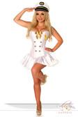 Daisy Corset 4 PC Sexy Navy Officer Costume