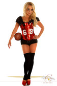 "Daisy Corset 2 PC Sexy "" Football Fantasy"" Costume"