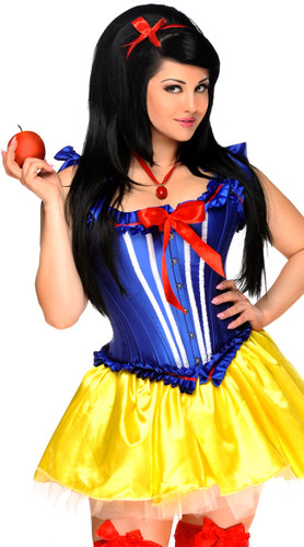 "Daisy Corset 5 PC Sexy ""Poisoned Apple"" Costume"