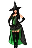 """Daisy Corset 5 PC Sexy """"Wicked Witch"""" Costume"""
