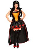 "Daisy Corset 5 PC Sexy ""Heart Queen"" Costume"