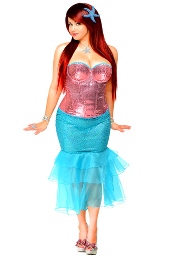 "Daisy Corset 2 PC ""Sexy Siren"" Costume"