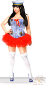 Daisy Corset 3 PC Sexy Sailor Costume