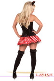 Daisy Corset Lavish 3 PC Flirty Mouse Costume