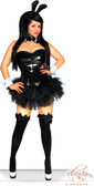 Daisy Corset Plus Size 5 PC Sexy Sequin Bunny Costume