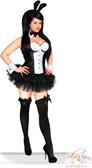Daisy Corset Plus Size 5 PC Sexy Tuxedo Bunny Costume