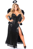 Daisy Corset Top Drawer Premium Dark Angel Corset Costume