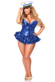 Daisy Corset Top Drawer Premium Sequin Sailor Corset Dress Costume