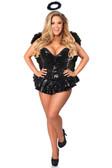 Daisy Corset Top Drawer Premium Sequin Dark Angel Corset Dress Costume
