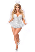 Daisy Corset Top Drawer Premium Sequin Angel Corset Dress Costume