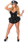 Daisy Corset Top Drawer Premium Sequin Cop Corset Dress Costume