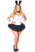 Daisy Corset Lavish Flirty Tuxedo Bunny Corset Costume