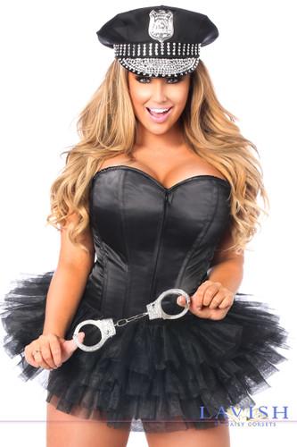 Daisy Corset Lavish Flirty Cop Corset Costume