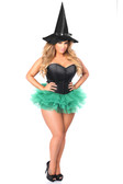Daisy Corset Lavish Flirty Green Witch Corset Costume