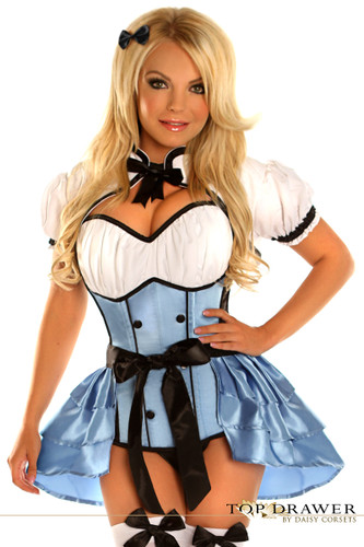 Daisy Corset Top Drawer 4 PC Alice Costume