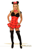 "Daisy Corset Top Drawer "" Miss Mouse"" Costume"