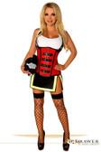 Daisy Corset Top Drawer Five Alarm Firegirl Costume