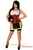 Daisy Corset Top Drawer Plus Size Five Alarm Firegirl Costume