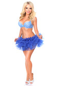 Daisy Corset Royal Blue Tutu