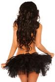 Daisy Corset Black Petticoat