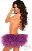 Daisy Corset Purple Petticoat