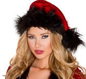 Roma Costume C181 Fur Trimmed Hat