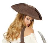 Roma Costume Beautiful Pirate Maiden Hat