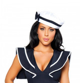 Roma Costume Sailor Hat with Blue Bow