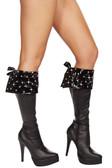 Roma Costume Rhinestone Studded Boot Cuffs