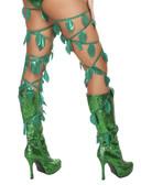 Roma Costume Green Leaf Thigh Wraps