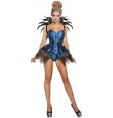 Roma Costume 2PC Peacock Diva
