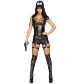 Roma Costume 3PC Seductive Swat Agent
