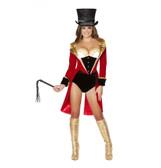 Roma Costume 5PC Naughty Ringleader Costume