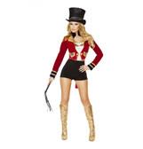 Roma Costume 6PC Seductive Circus Leader Costume