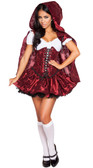 Roma Costume 4PC Lusty LiL' Red