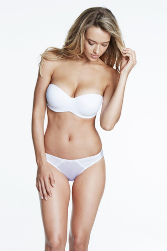 Dominique Intimate Apparel Oceane Strapless Bridal Bra - White