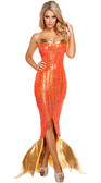 Roam Costume 1Pc Seductive Ocean Siren