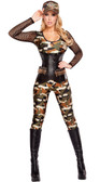 Roma Costume 4Pc Lusty Lieutenant