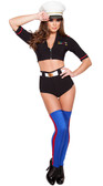 Roma Costume 3Pc Navy Yard Mistress